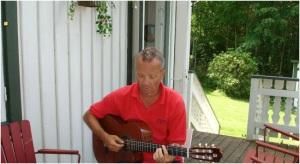 Mats med gitarr